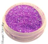 Lavender Indigo Color Purple Glitter Dust - aqua